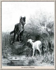 fable-de-la-fontaine----illustration-dore---le-loup-et-l-ag (Copier)
