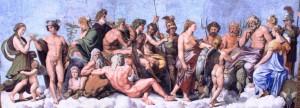 banquet des dieux Raphael (2)