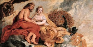 Jupiter et Junon Rubens