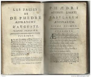 fable latin français