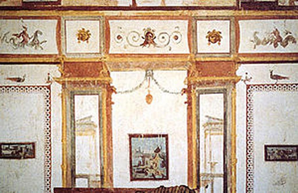 Les grotesques de la domus aurea diximus le latin au for Foto di decorazione della casa del cottage