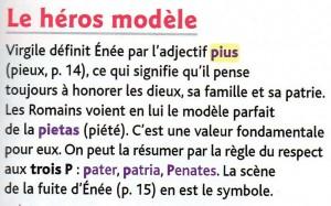 Le héros modèle texte