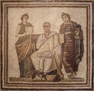 Virgile écrivant l'Enéide