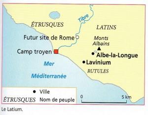 carte Latium