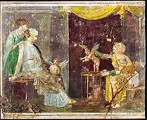 la marchande d'amour pompei