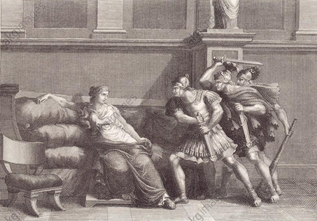 HISTOIRE ABRÉGÉE DE L'ÉGLISE - PAR M. LHOMOND – France - année 1818 (avec images et cartes) Mort-dagrippine