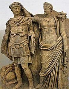 neron-et-agrippine-relief-en-marbre