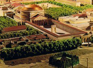 pantheon maquette antique