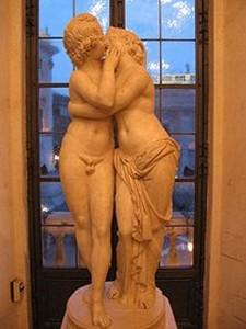 statue amour et psyché