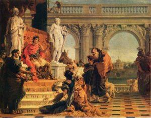 tableau Mécène et Auguste