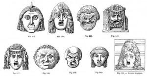 masques tragiques