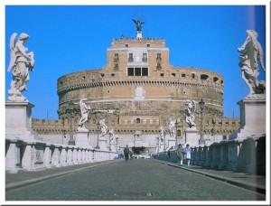 chateau saint ange mausolée d'Hadrien