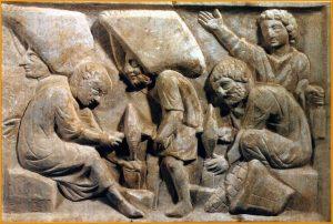bas relief tailleurs de pierre