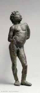 statuette esclave noir